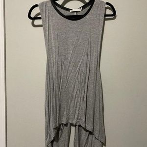 Bishop + Young Grey Open Back Tank